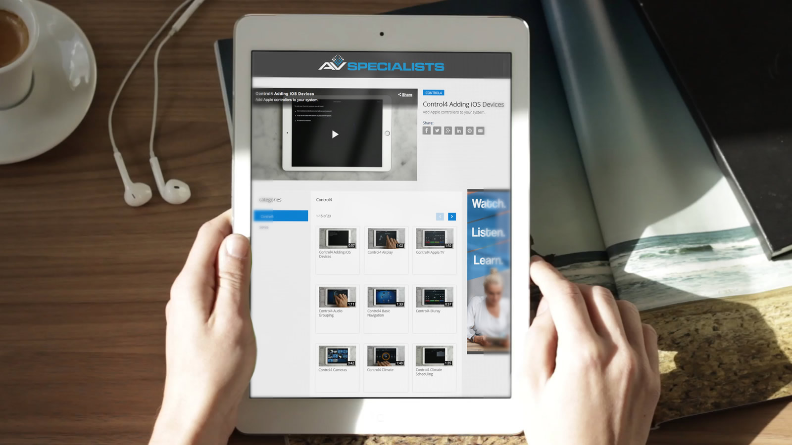 Case Study AVS Videos 1x2tablet