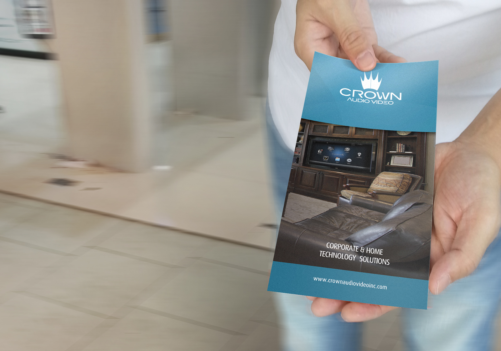 case study crown av brochure