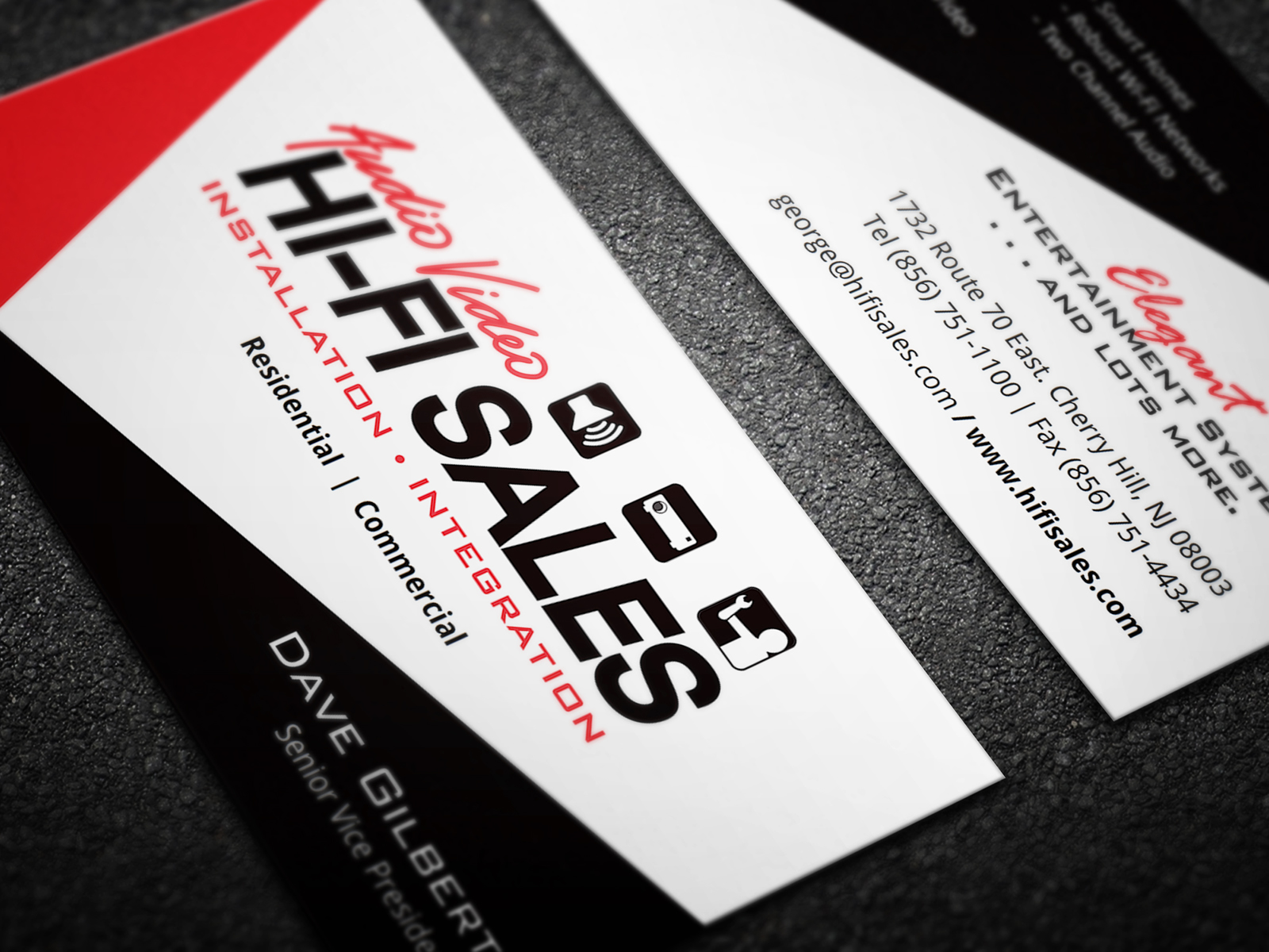case study hi fi sales OneFirefly Businesscards 01
