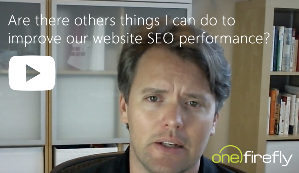 video cover seo are there other things i should be doing to improve our website performance
