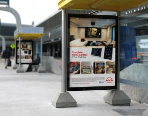 Brand BusShelters Ad AVAMiami