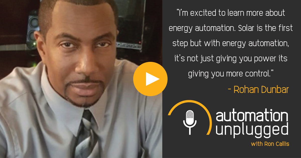 Home Automation Podcast Episode #102: An Industry Q&A With Rohan Dunbar
