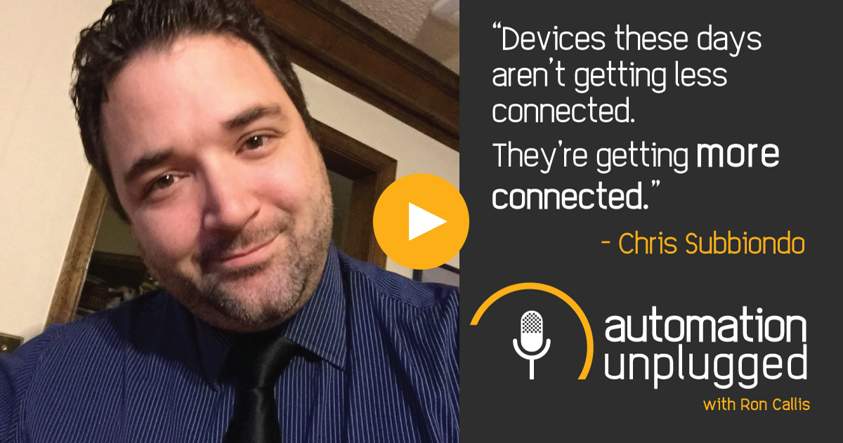 Home Automation Podcast Episode #37: An Industry Q&A With Chris Subbiondo