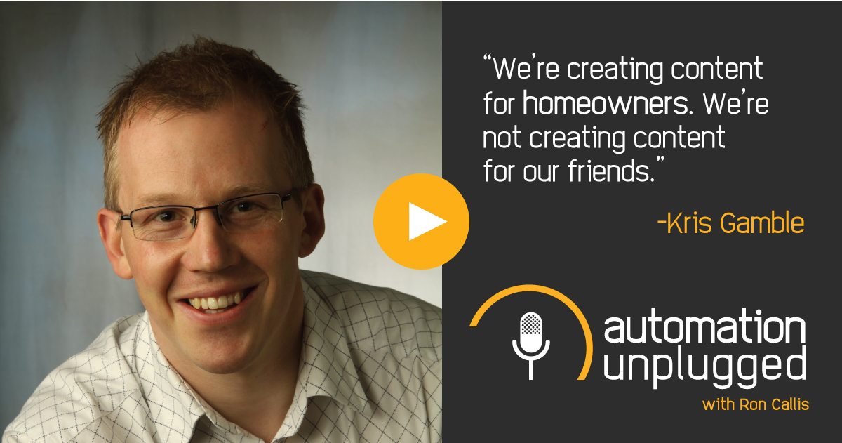 Home Automation Podcast Episode #83: An Industry Q&A With Kris Gamble
