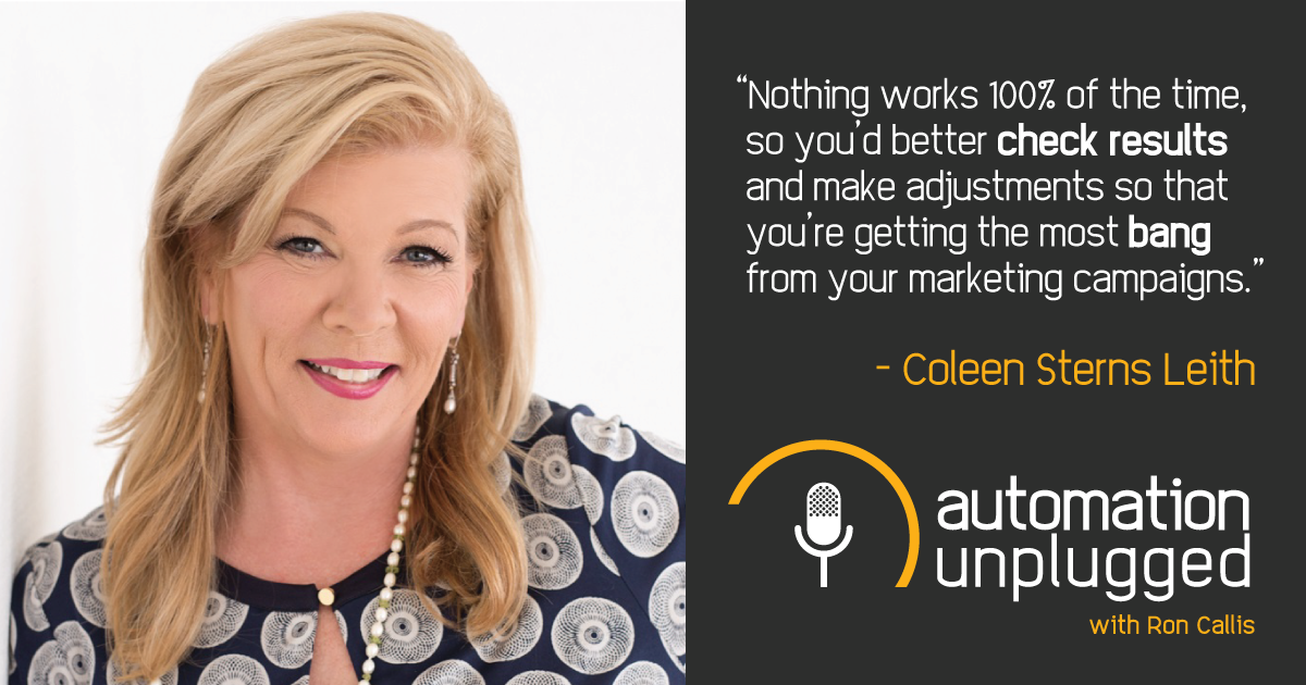 Watch Episode #26: an Industry Q&A with Coleen Sterns Leith