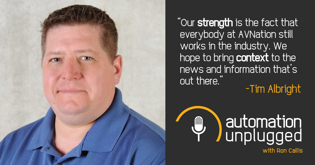 Home Automation Podcast Episode #6: An Industry Q&A With Tim Albright