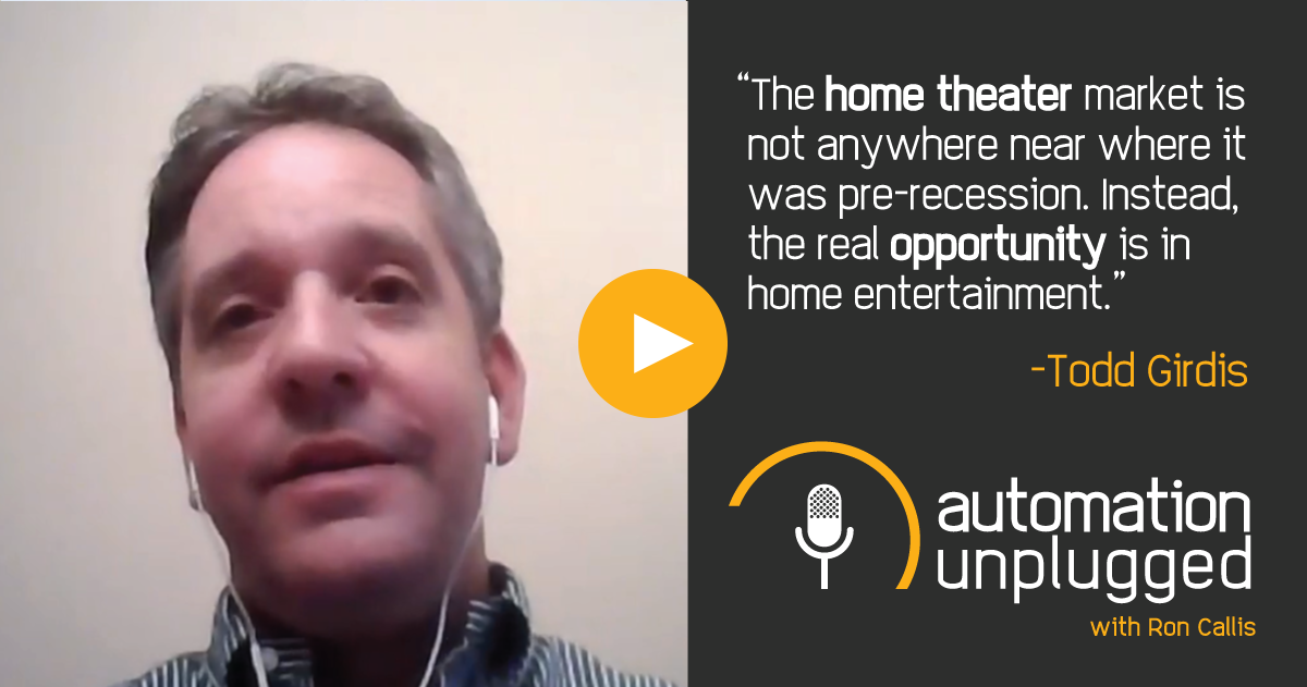 Home Automation Podcast Episode #22: An Industry Q&A With Todd Girdis