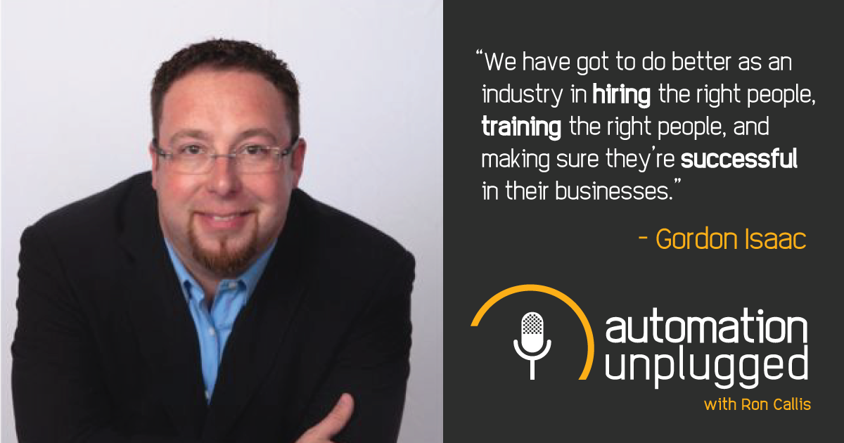 Home Automation Podcast Episode #10: An Industry Q&A With Gordon Isaac