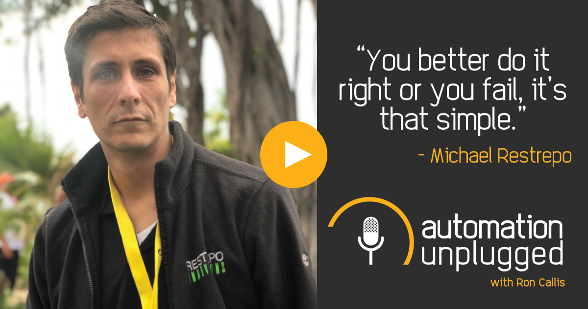 Watch Episode #61: An Industry Q&A with Michael Restrepo