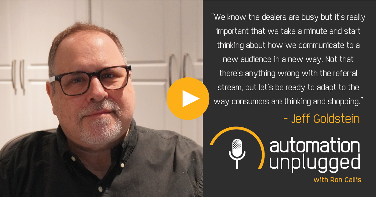 Home Automation Podcast Episode #143: An Industry Q&A With Jeff Goldstein