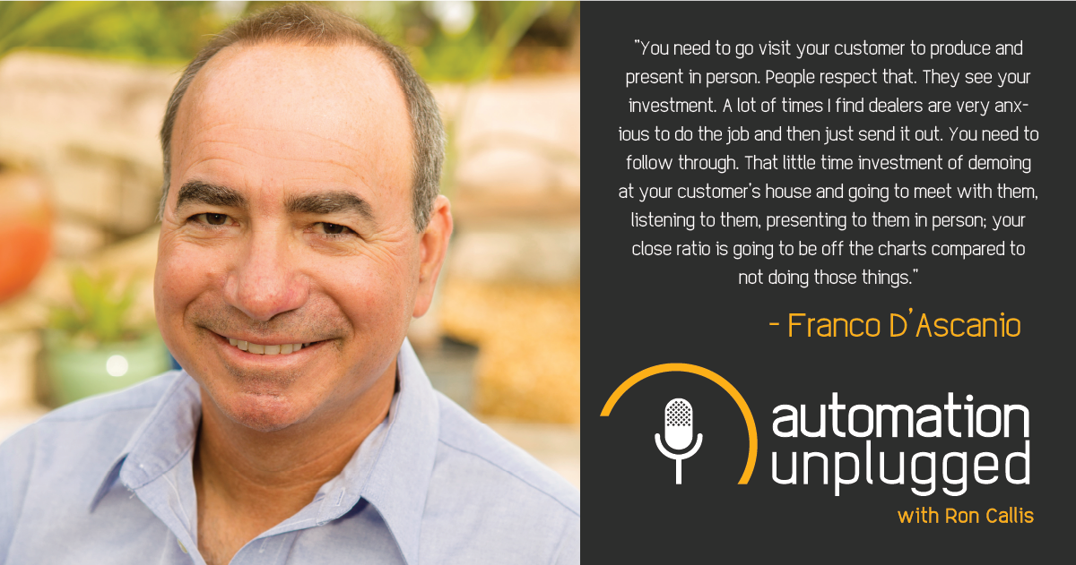 Home Automation Podcast Episode #168: An Industry Q&A With Franco D'Ascanio
