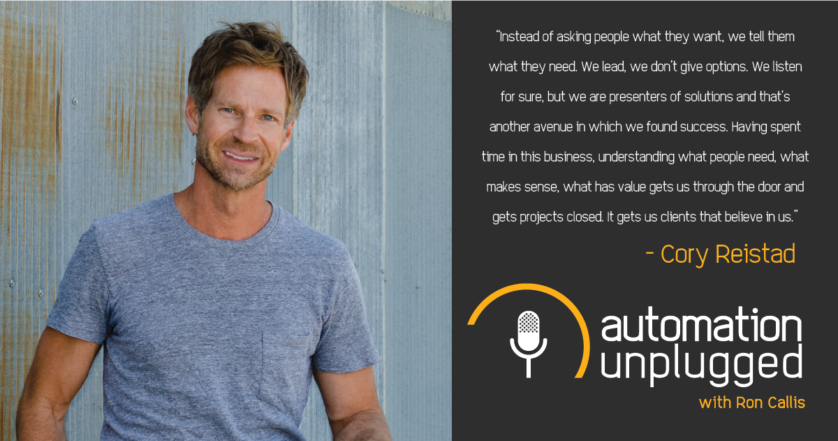 Home Automation Podcast Episode #170: An Industry Q&A With Cory Reistad