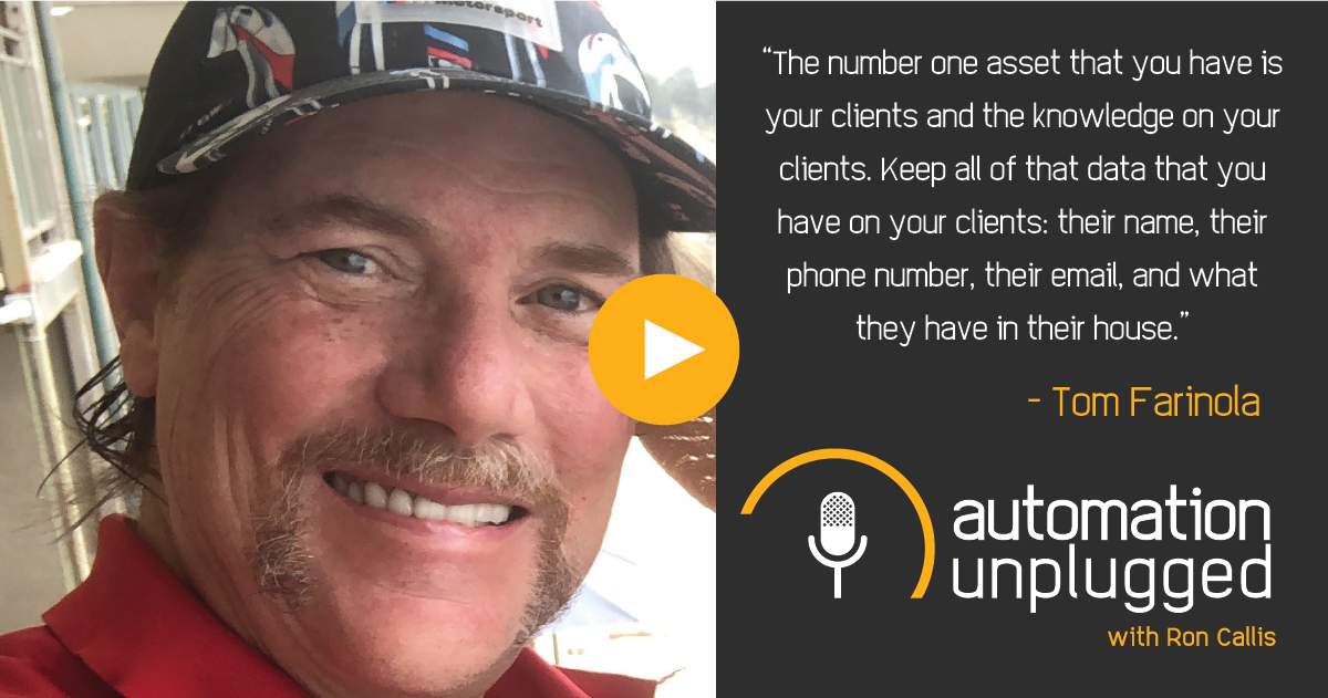 Home Automation Podcast Episode #181: An Industry Q&A With Tom Farinola