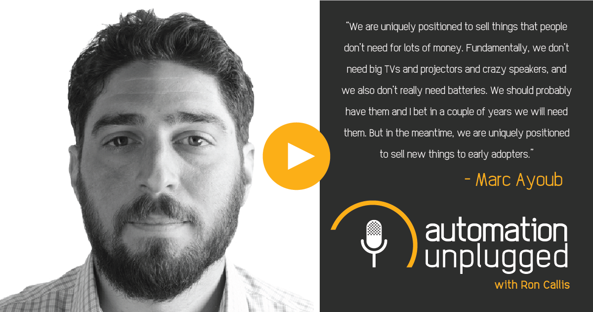 Home Automation Podcast Episode #182: An Industry Q&A With Marc Ayoub