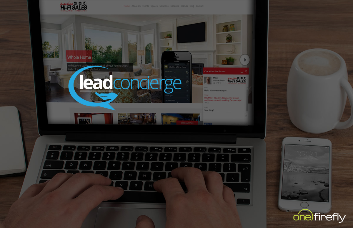 One Firefly Unveils Lead Concierge, a Manned Live Chat Service for Integrators