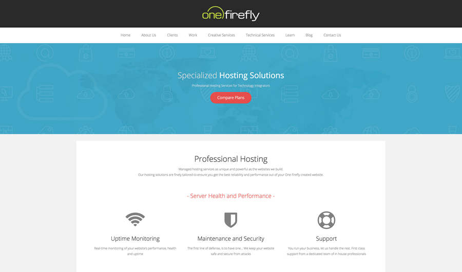 One Firefly Expands Online Services with Enhanced Web Hosting Packages for Technology Integrators