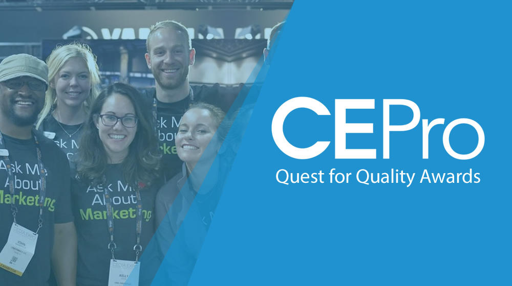 One Firefly Recognized In CE Pro's 2019 Quest For Quality Awards