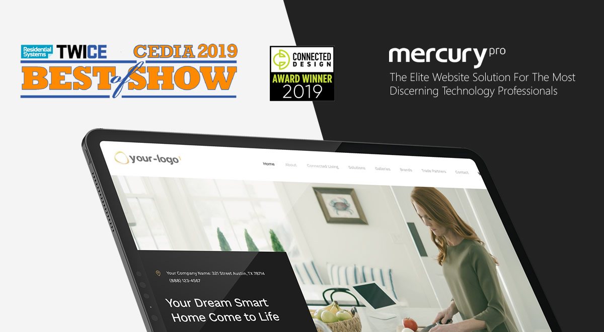 One Firefly's Mercury Pro Nets Multiple Industry Awards At 2019 CEDIA Expo