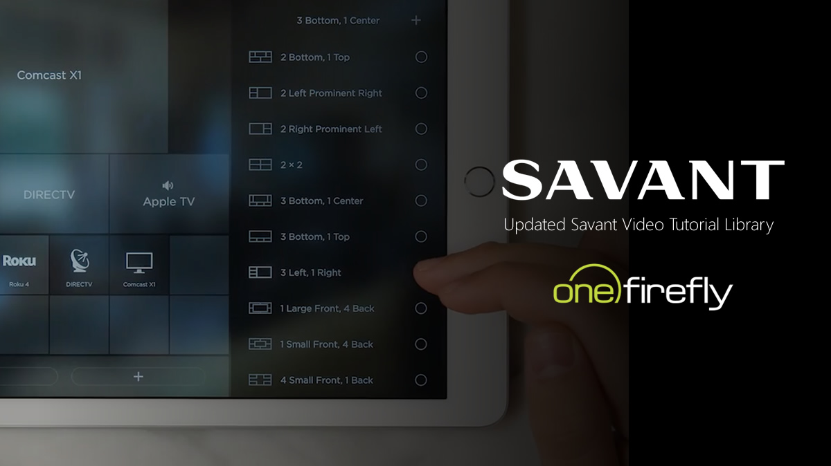 One Firefly Premiers Updated Savant Video Tutorial Library at Dealer Summit