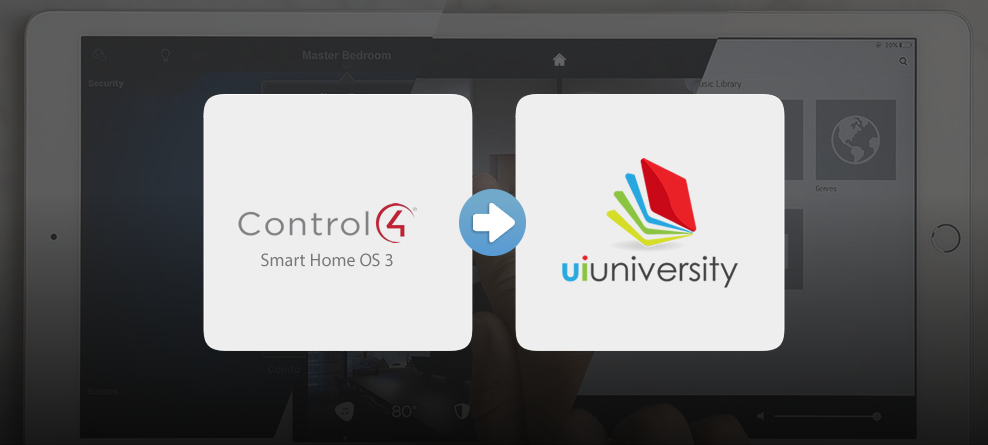 One Firefly Launches Control4 Smart Home OS 3 Video Tutorials for UI University Collection