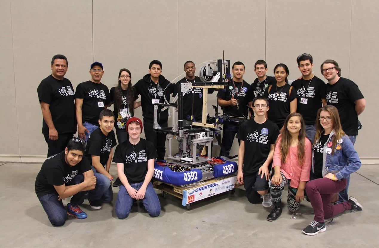 One Firefly's Mentorship of Local High School Robotics Program Building Tradition of Success and Leadership